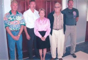 The Schulz family continues the tradition of Fisherman's Inn, which opened in 1930 at Kent Narrows. Pictured from the left are Andy, Tracy, Betty, Sonny and Jody.