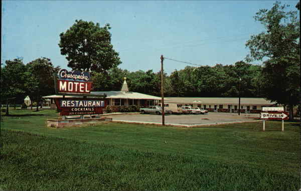 Chesapeake Motel and Restaurant Grasonville, MD